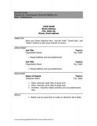 Resume Free Templates Microsoft Word Resume Template Construction Word 14 Throughout