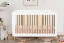 Babyletto Convertible Crib Babyletto Lolly Convertible Wood Crib White