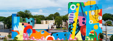 3d Hole Murals 3d Cake Image Turns An Industrial Complex In Maryland Into A Multicolored Mega Mural