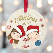 personalized ornaments family glacelis