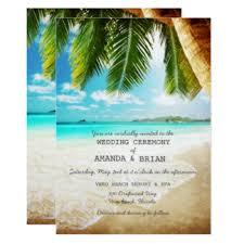 tropical wedding invitations wedding invitations announcements zazzle
