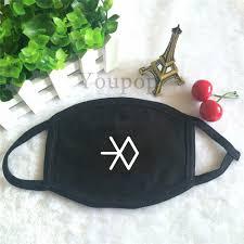 Masker Exo exo sm miracles in december album official logo exo l fashion