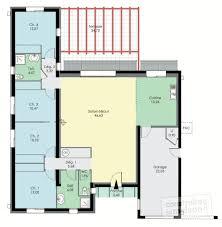 plan maison contemporaine plain pied 3 chambres exemple plan salle de bain 9 plan maison plain pied 3 chambres