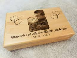 engraved memory box engraved personalized keepsake box laser designs engraving