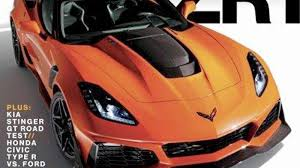 corvette the 750 horsepower 2019 chevrolet corvette zr1 this is it updated
