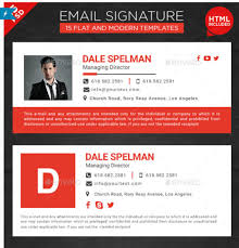20 best email signature templates psd u0026 html download