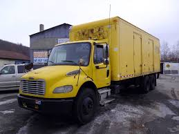 freightliner used trucks 2005 freightliner m2 tandem axle box truck for sale by arthur