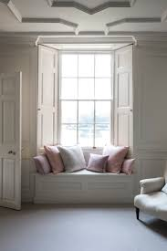 romantic linen cushions from the linen works window seats