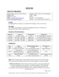 mesmerizing latest format resume fresher in resume format fresher