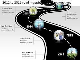 roadmap template four phase development planning timeline roadmap