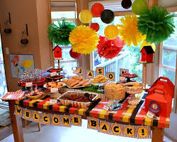 home party decoration welcome home decoration ideas image gallery pic of welcome home