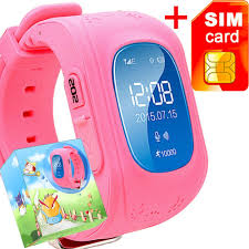 amazon com gbd gps tracker smart watch for kids with sim card