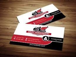 concrete business cards modern bold business card design for east mississippi concrete by