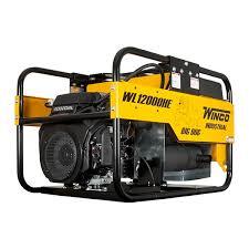 winco portable generator wl12000he 12000 watt 20 hp honda