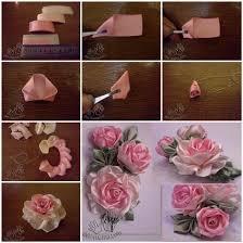 silk ribbon roses diy pretty satin ribbon roses free tutorial