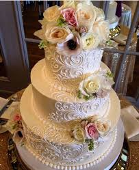 cheap wedding cakes classic wedding cakes white flower cake shoppe