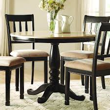 marble top dining room sets homelegance dearborn round faux marble top dining table in black