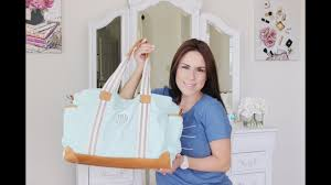 Pottery Barn Classic Diaper Bag Review Pottery Barn Diaper Bag Review Youtube