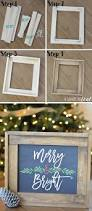 christmas mantle update how to make a rustic wood frame rustic