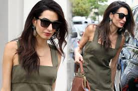 is amal clooney hair one length amal clooney attended o brother where art you 15th anniversary