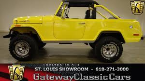 jeep jeepster 2015 1970 jeep commando gateway classic cars st louis 6375 youtube