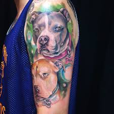 70 pitbull tattoo designs u0026 meanings for the dog lovers 2018