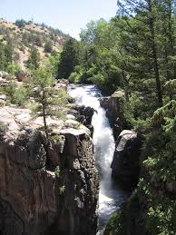 Wyoming forest images Shell falls wikipedia jpg