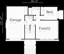 Split Level Homes Plans Split Level House Plans Small House Plans