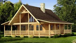 Wrap Around Porch Floor Plans Cabin Floor Plans With Porches