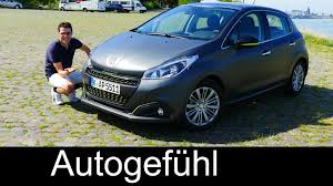 peugeot 208 2016 2016 peugeot 208 facelift full review test driven allure blue hdi