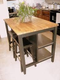 Kitchen Utility Tables - kitchen island ikea stenstorp island painted black portable