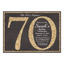 70th birthday invitations u0026 announcements zazzle co uk