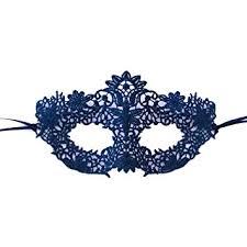 masquerade mask beautiful blue coachella lace masquerade mask by