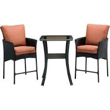 Bar Height Patio Chairs by Balcony Height Patio Set Lowes Balcony Height Bistro Set Balcony