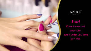 nail diy how to do temperature changing color nail gel youtube