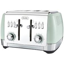 Delonghi Icona Toaster Green Prezola Electricals Toasters
