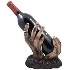 Halloween Home Decor Amazon by Amazon Com Zombie Rising Up From The Grave Wine Bottle Holder
