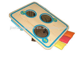bean bags toss game with 3 holes buy three holes bean bags toss