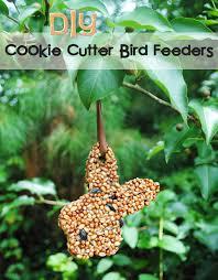 diy cookie cutter bird feeders kids craft tutorial wee share