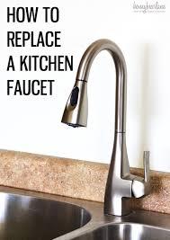 installing a kitchen sink faucet kitchen sink decoration