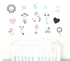 Fabric Wall Decals For Nursery Fabric Wall Decal Nursery Animal Decals Nursery Wall Decal Baby