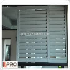 exterior decorative window shutter sun louvers exterior