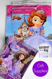 birthday party ideas with sofia the first