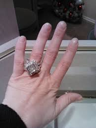 5 carat engagement ring i got my 5 carat ring opinions weddingbee