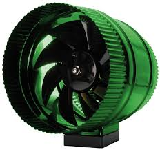 Amazon Active Air ACFB8 8 Inch In Line Booster Fan Built
