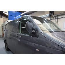 volkswagen van transparent vw transporter t5 mirrors fold on lock advanced in car