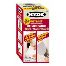 Repair Ceiling Hole by Hyde Wet And Set Patented Wall And Ceiling Patch Roll 09911