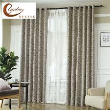 rideau pour chambre byetee moderne nouveau design de luxe rideaux pour salon rideau