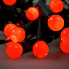 konstsmide 8 85m length of 50 indoor static globe berry lights