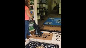 Don Aslett Doormat How To Clean Your Doormat The Personalized Doormats Company